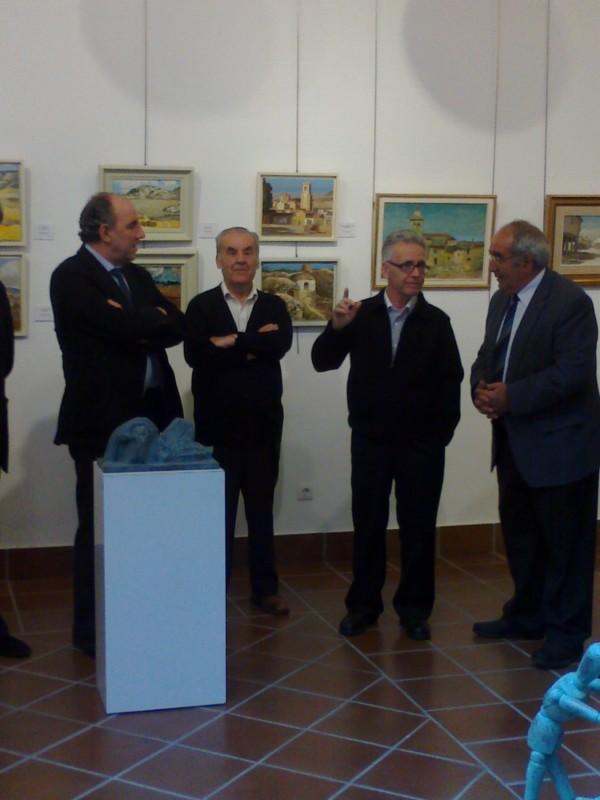 Inauguración Exposición Pintura MURIAS