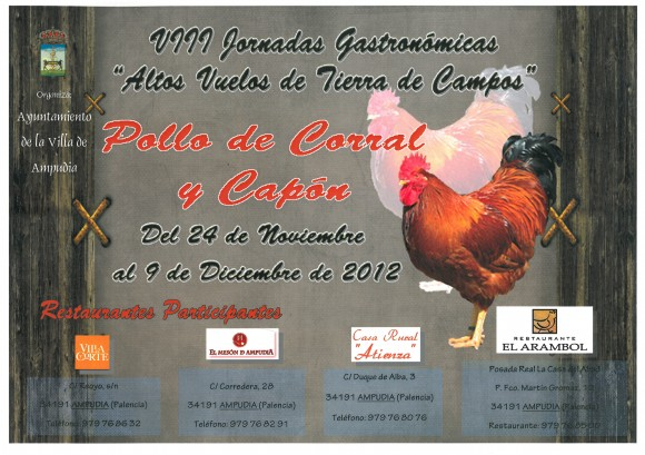 Pollo de corral y Capon